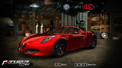 Photo of NFS Most Wanted – Alfa Romeo 4C Concept 2011 Model