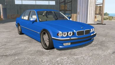 Photo of BeamNG – BMW 750iL (E38) 1998 Model Araba Modu