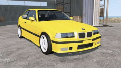 Photo of BeamNG – Bmw M3 Coupe (E36) 1993 Model Araba Modu
