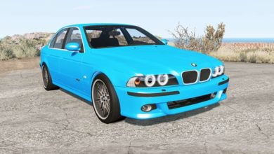 Photo of BeamNG – BMW M5 (E39) 2001 Model Araba Modu