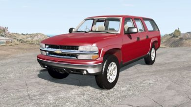Photo of BeamNG – Chevrolet Suburban Z71 (GMT800) Araba Modu