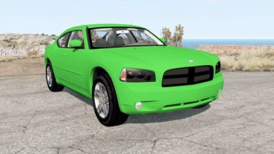 Photo of BeamNG – Dodge Charger RT (LX) 2006 Model Araba Modu