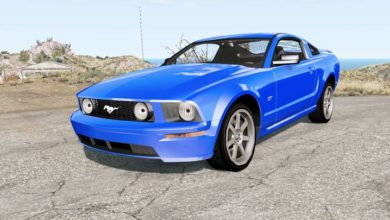 Photo of BeamNG – Ford Mustang GT 2005 Model Araba Modu
