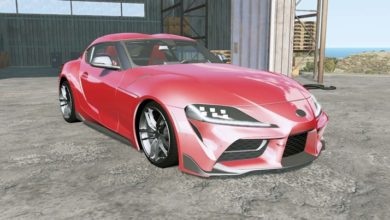Photo of BeamNG – Toyota GR Supra (A90) 2019