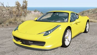 Photo of BeamNG – Ferrari 458 Italia 2010 Model Araba Modu