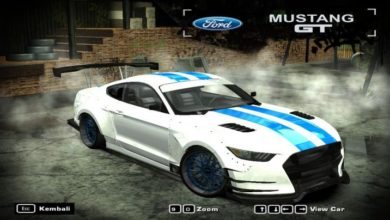 Photo of Ford Mustang GT 15 (MW)