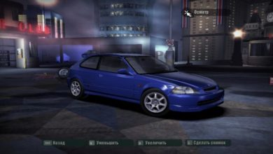Photo of NFS Carbon – Honda Civic Type R 1997 Model