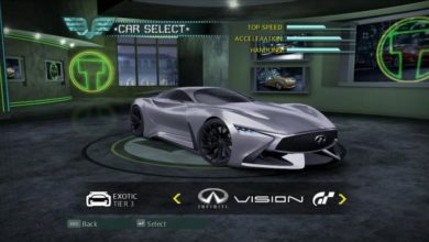 Photo of NFS Carbon – Infiniti Vision GT