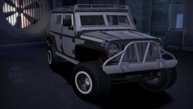 Photo of NFS Carbon – Jeep Wrangler