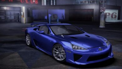 Photo of NFS Carbon – Lexus LF-A Concept