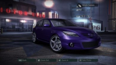 Photo of NFS Carbon – Mazda 3