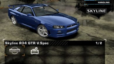 Photo of NFS Most Wanted – 1999 Nissan Skyline R34 GT-R