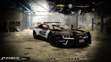 Photo of NFS Most Wanted – Chevrolet Camaro ZL1 2012 Model