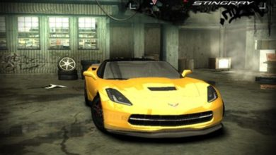 Photo of NFS Most Wanted – Chevrolet Corvette Z06 (C7)