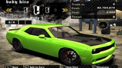 Photo of NFS Most Wanted – Dodge Challenger SRT8 2011 Model
