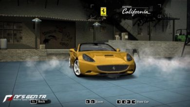 Photo of NFS Most Wanted – Ferrari California