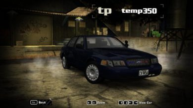 Photo of NFS Most Wanted – Ford Crown Victoria 2001 Model