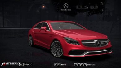 Photo of NFS Most Wanted – Mercedes-Benz CLS 63 AMG 2015