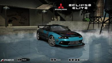 Photo of NFS Most Wanted – Mitsubishi Eclipse GS-T Elite