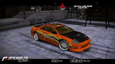 Photo of NFS Most Wanted – Mitsubishi Eclipse GTS 2003 Model