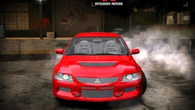 Photo of NFS Most Wanted – Mitsubishi EVO IX MR
