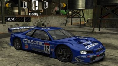 Photo of NFS Most Wanted – Nissan Skyline R34 GTR Super GT