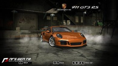 Photo of NFS Most Wanted – Porsche 911(991) GT3 RS