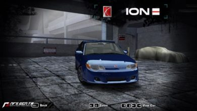 Photo of NFS Most Wanted – Saturn 2006 ION Red Line