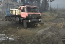 Photo of Spintires Mudrunner – Tatra 815 Kamyon Modu
