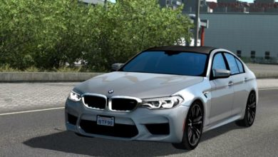 Photo of ETS2 – Bmw M5 F90 Araba Modu (1.38)