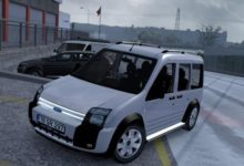 Photo of ETS2 / ATS – Ford Transit Connect Araba Modu (1.38)