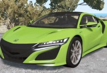 Photo of BeamNG – Honda NSX 2016 Model Araba Modu V1.1