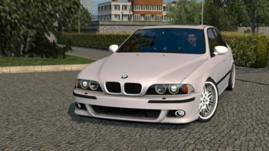 Photo of ETS2 – Bmw M5 E39 Araba Modu (1.38.x)