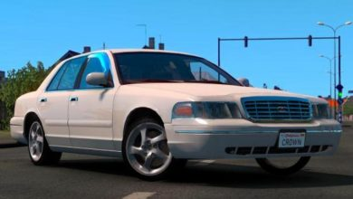 Photo of ETS2 – Ford Crown Victoria 2012 Model Araba Modu V3 (1.38)