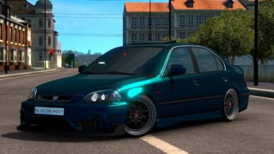 Photo of ETS2 – Honda Civic Ies Araba Modu V6 (1.38)