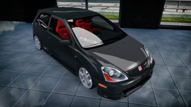 Photo of ETS2 – Honda EP3 Typer Araba Modu (1.38)