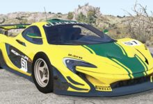Photo of BeamNG – McLaren P1 GTR 2015 Model Araba Modu