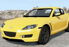 Photo of BeamNG – Mazda RX-8 2004 Model Araba Modu