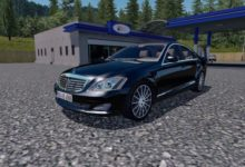 Photo of ETS2 – Mercedes-Benz S350 Araba Modu V4 (1.39.x)