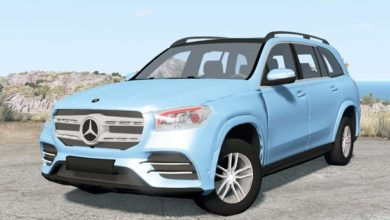 Photo of BeamNG – Mercedes-Benz GLS 450 AMG (X167) 2020 Model Araba Modu