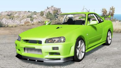 Photo of BeamNG – Nissan Skyline GT-R V-Spec II (BNR34) 2000 Model Araba Modu