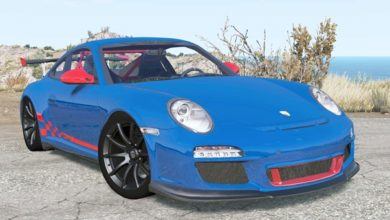 Photo of BeamNG – Porsche 911 GT3 RS (997) 2009 Model Araba Modu