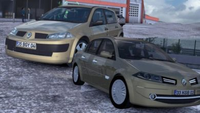 Photo of ETS2 / ATS – Renault Megane II Araba Modu (1.39.x)