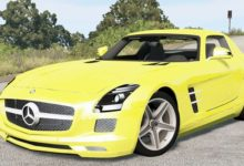 Photo of BeamNG – Mercedes-Benz SLS 63 AMG (C197) 2010 Model Araba Modu
